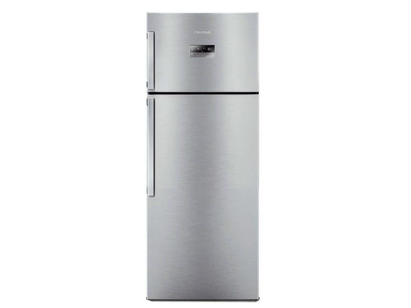 Double door freestanding no frost refrigerator GDN 17920 X | Refrigerator by Grundig