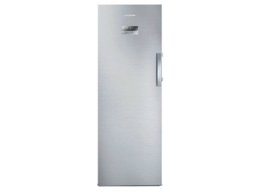 Freestanding single door no frost refrigerator GSN 10620 X | Refrigerator - GRUNDIG