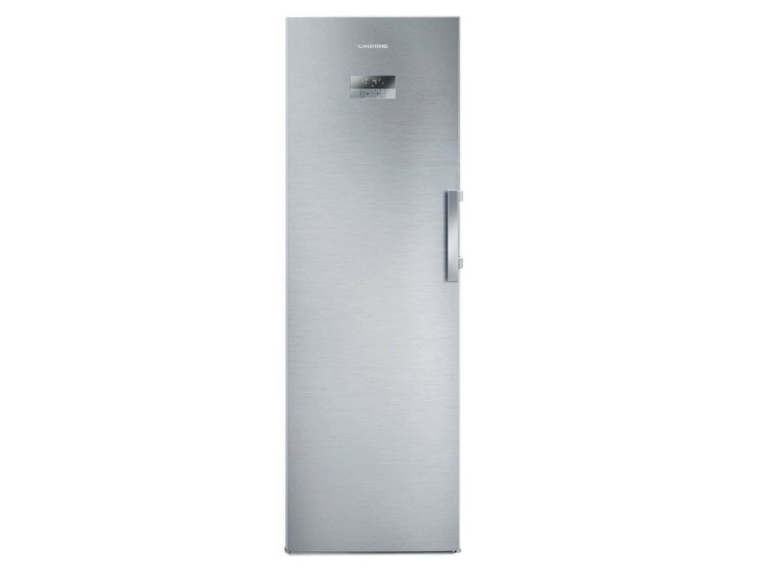 Freestanding single door no frost refrigerator GSN 10720 X | Refrigerator by Grundig