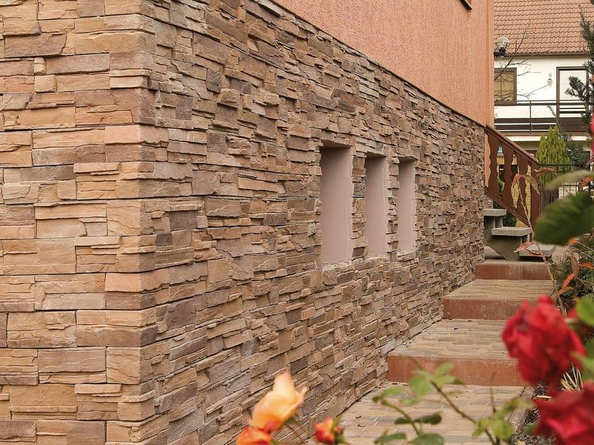 Revestimiento de pared imitaci n piedra spaccato by gruppo - Revestimiento paredes imitacion piedra ...