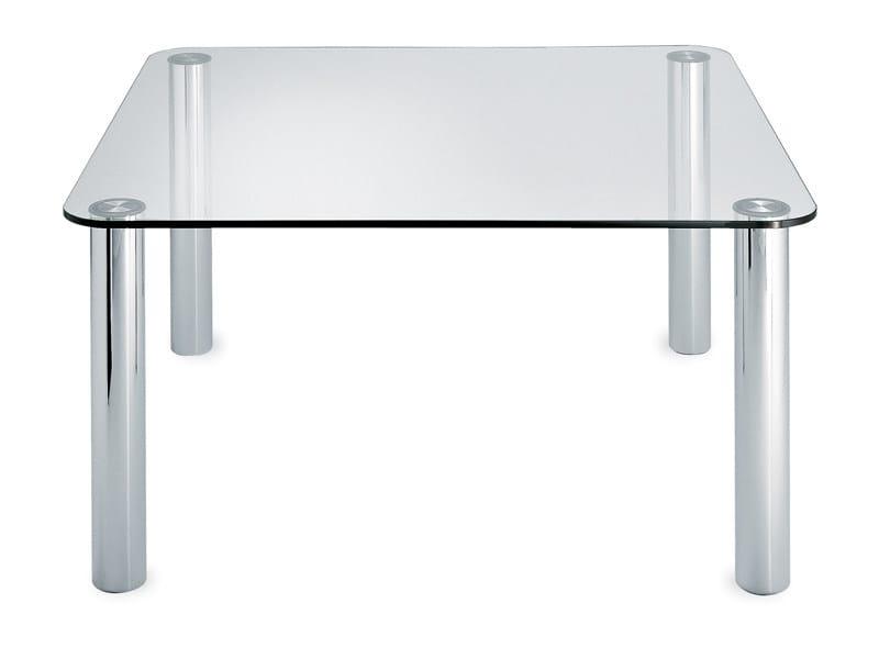 Square crystal table MARCUSO 2530 - Zanotta