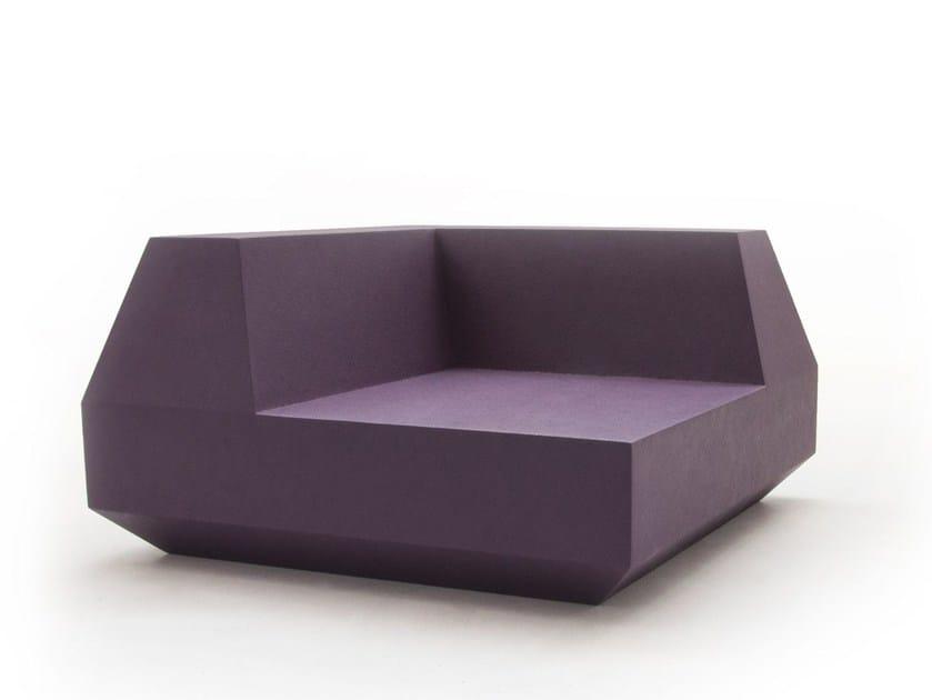 Corner sectional modular sofa ANTON CORNER by Quinze & Milan