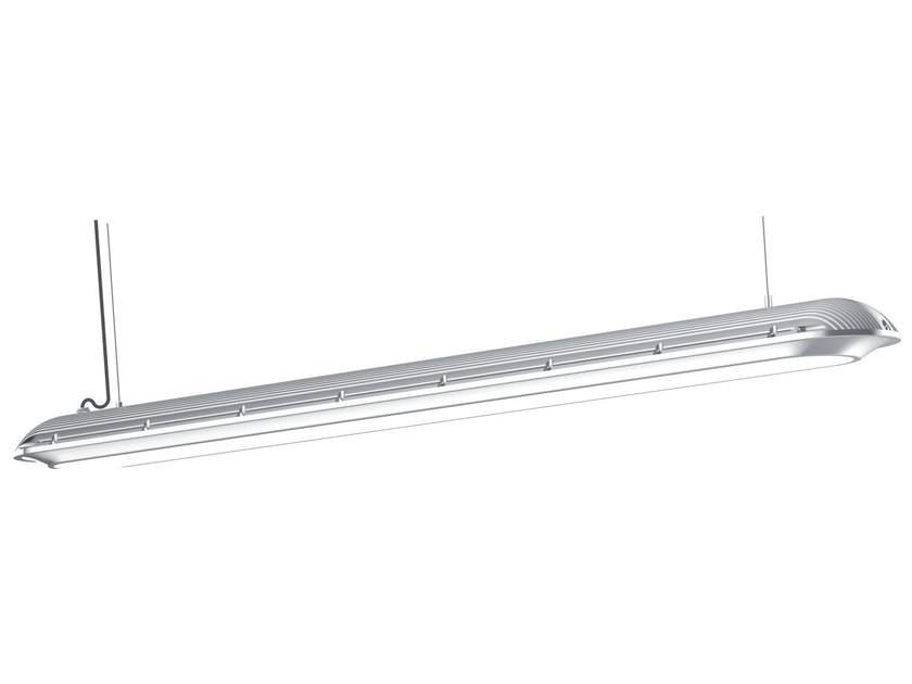 Fluorescent pendant lamp SLICE - TEKNI-LED