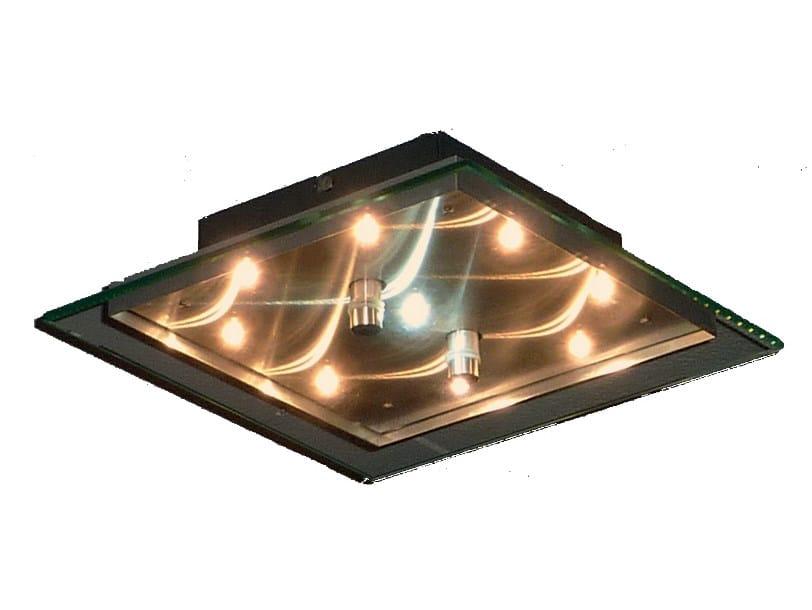 LED glass and aluminium built-in lamp SKYLIGHT | Built-in lamp - TEKNI-LED