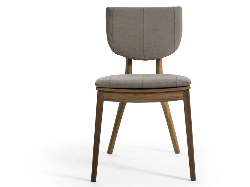 Stackable teak garden chair DIUNA | Teak garden chair by OASIQ
