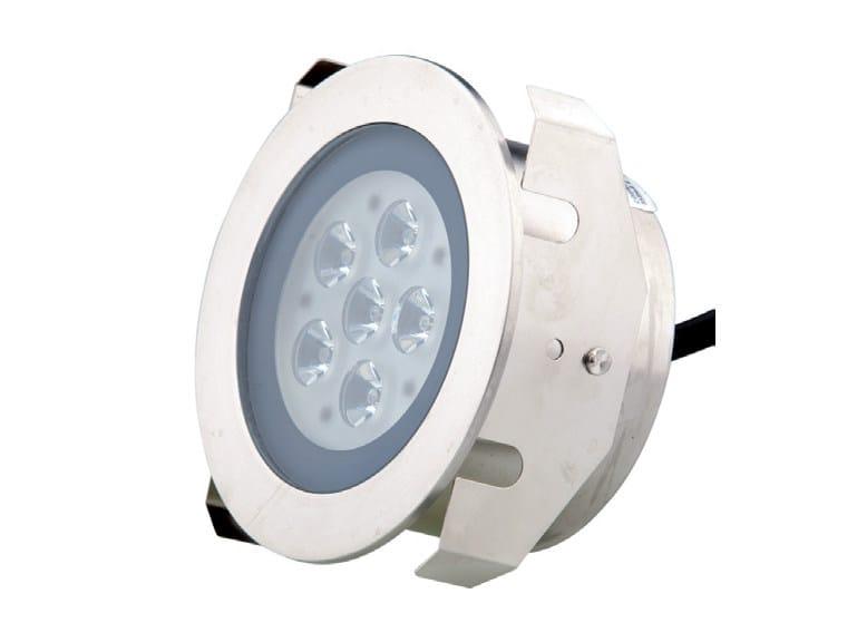 LED stainless steel Built-in lighting AQUA 6 - TEKNI-LED