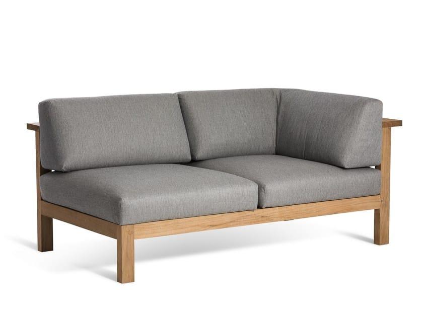 Sectional garden sofa MARO | Upholstered sofa - OASIQ