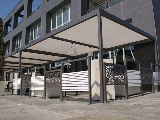 saint tropez pavillon aus stahl by cagis. Black Bedroom Furniture Sets. Home Design Ideas