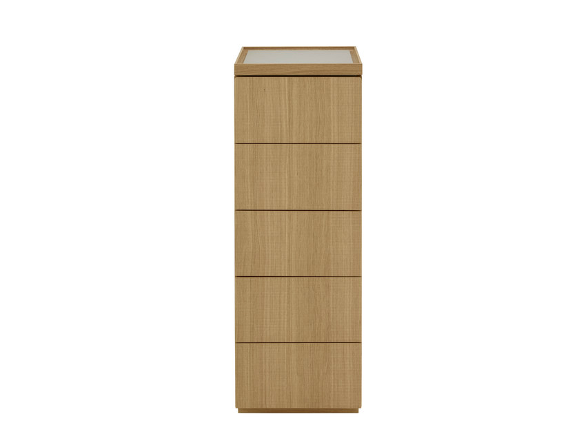 Oak chest of drawers ESTAMPE | Chest of drawers - ROSET ITALIA