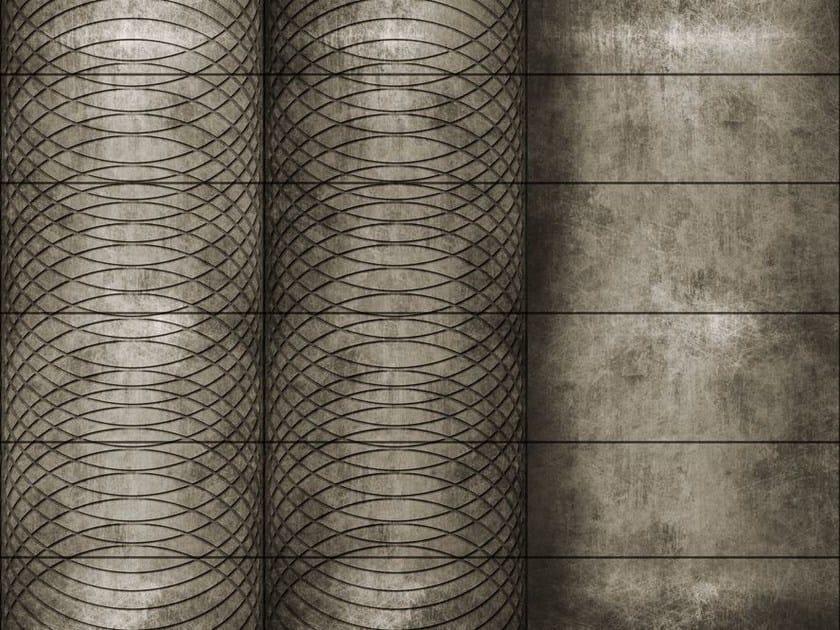 Motif geometric wallpaper CIRCLING by Wall&decò