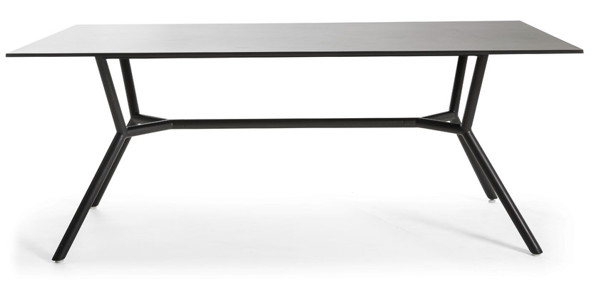 Rectangular metal garden table REEF | Metal table - OASIQ