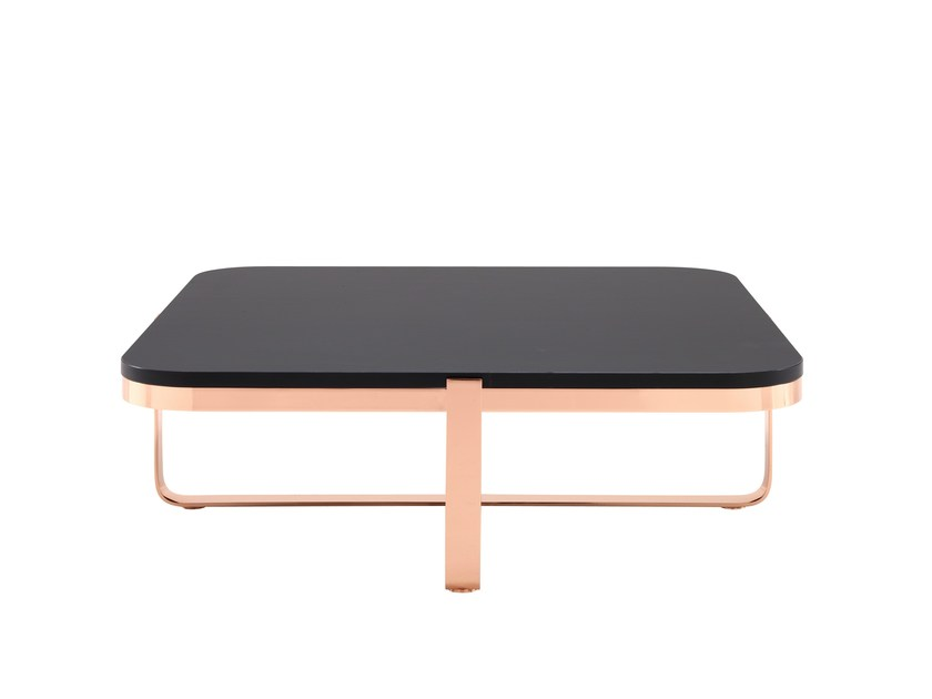 Low square coffee table FANCY CHIC | Square coffee table - ROSET ITALIA