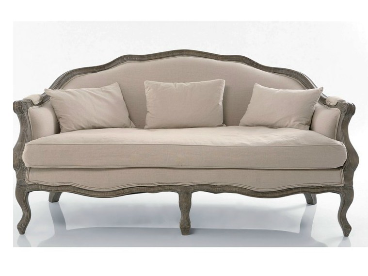 3 Seater Fabric Sofa Villa Linen By Kare Design