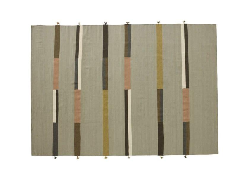 Wool rug RYTHMUS - ROSET ITALIA