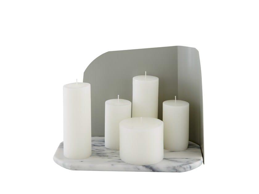 Marble candle holder ABBESSE - ROSET ITALIA