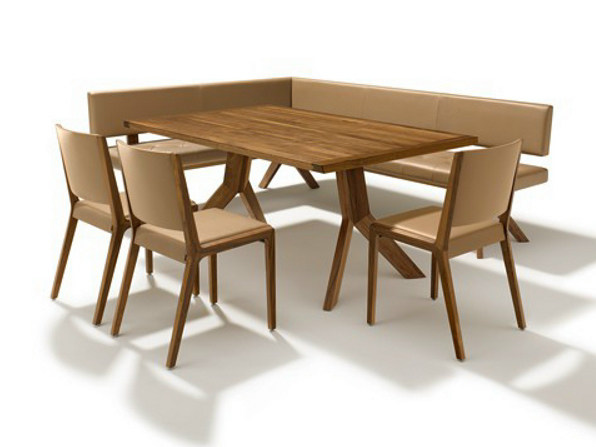 Rectangular wooden table YPS | Walnut table - TEAM 7 Natürlich Wohnen