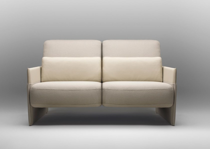 2 seater fabric sofa TABAC | Sofa by Bosc