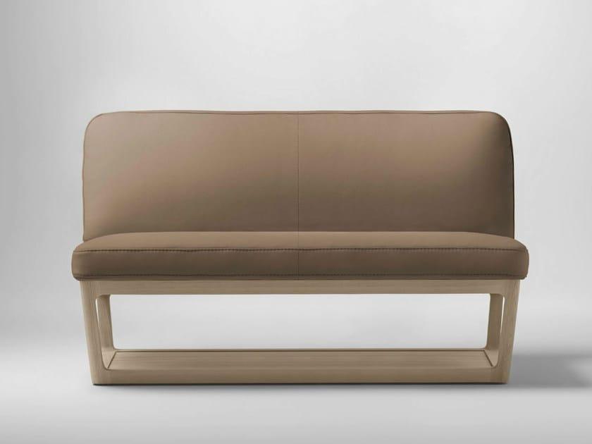 Leather sofa LÈIA   Sofa - Bosc