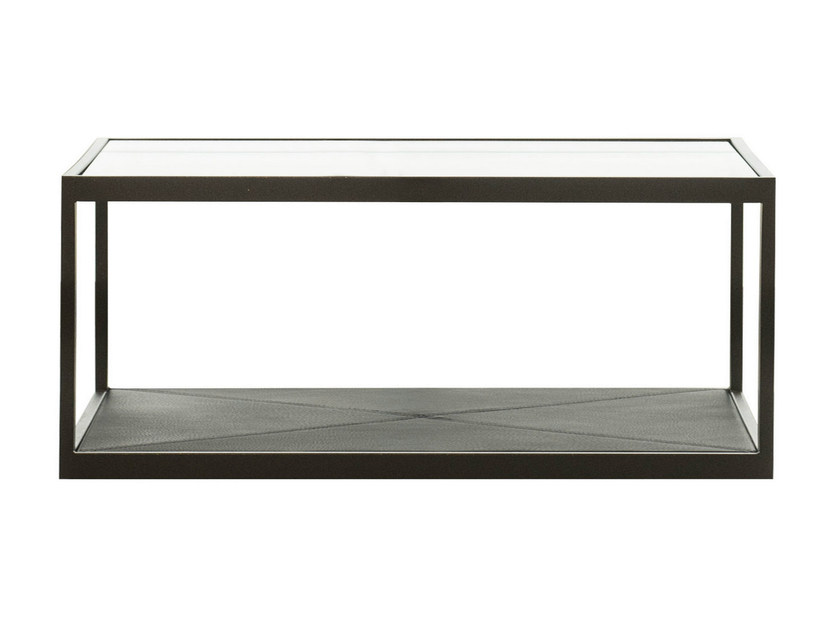 Rectangular glass coffee table MONACO | Rectangular coffee table by Röshults