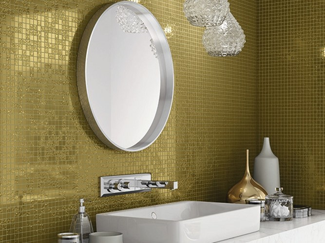 Glass mosaic MIX YELLOW GOLD - Elements Mosaic