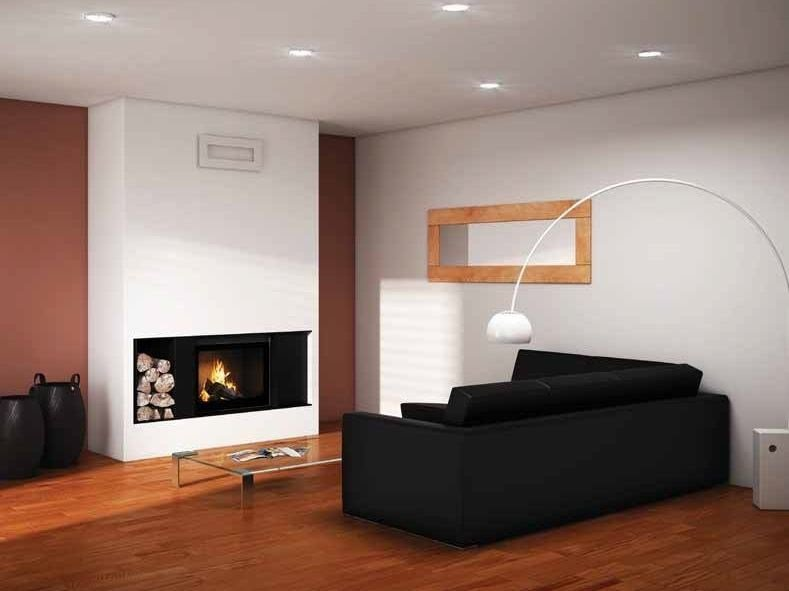 Built-in multi-fuel fireplace AZOR by CHEMINEES SEGUIN