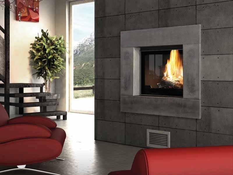 Wood-burning built-in fireplace ANTAO - CHEMINEES SEGUIN DUTERIEZ
