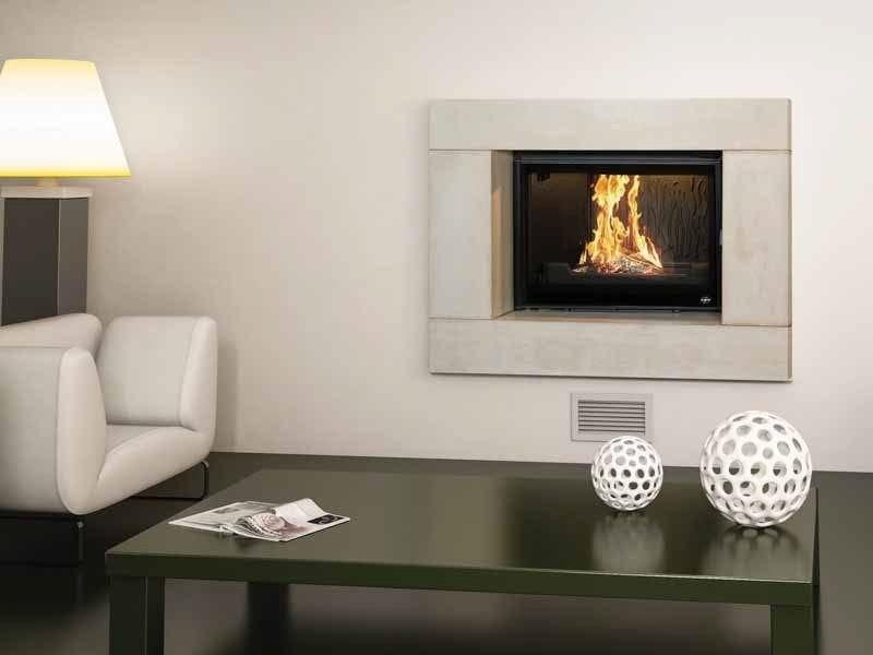Wood-burning built-in wall-mounted fireplace CAMÉTA II - CHEMINEES SEGUIN DUTERIEZ