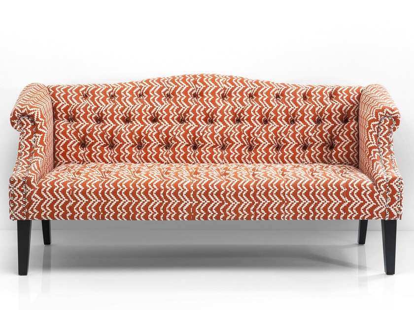 3 seater fabric sofa JULIETTA - KARE-DESIGN