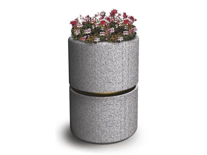 Concrete Flower pot GARDENIA - Gruppo Industriale Tegolaia