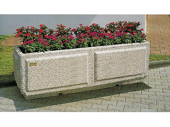 Concrete Flower pot CIDONIA - Gruppo Industriale Tegolaia