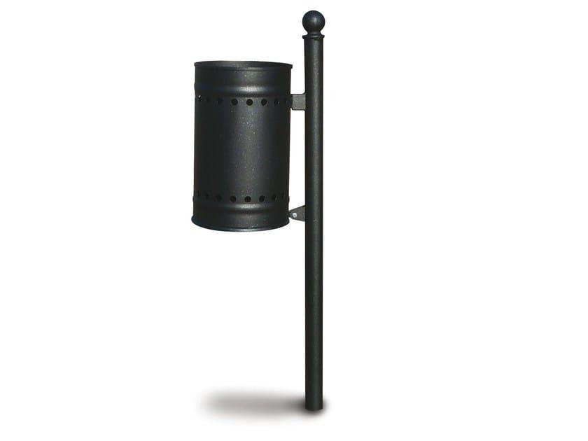 Outdoor steel waste bin CADICE - Gruppo Industriale Tegolaia
