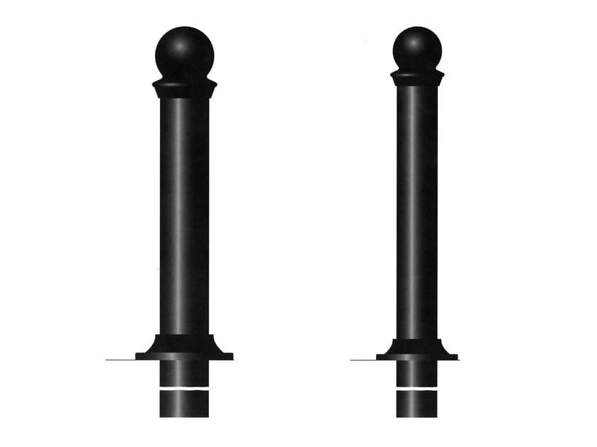 Fixed cast iron bollard post ALICANTE - Gruppo Industriale Tegolaia
