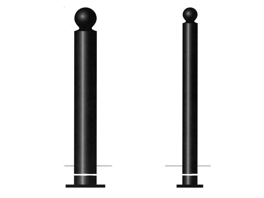 Steel bollard post MARBELLA - Gruppo Industriale Tegolaia