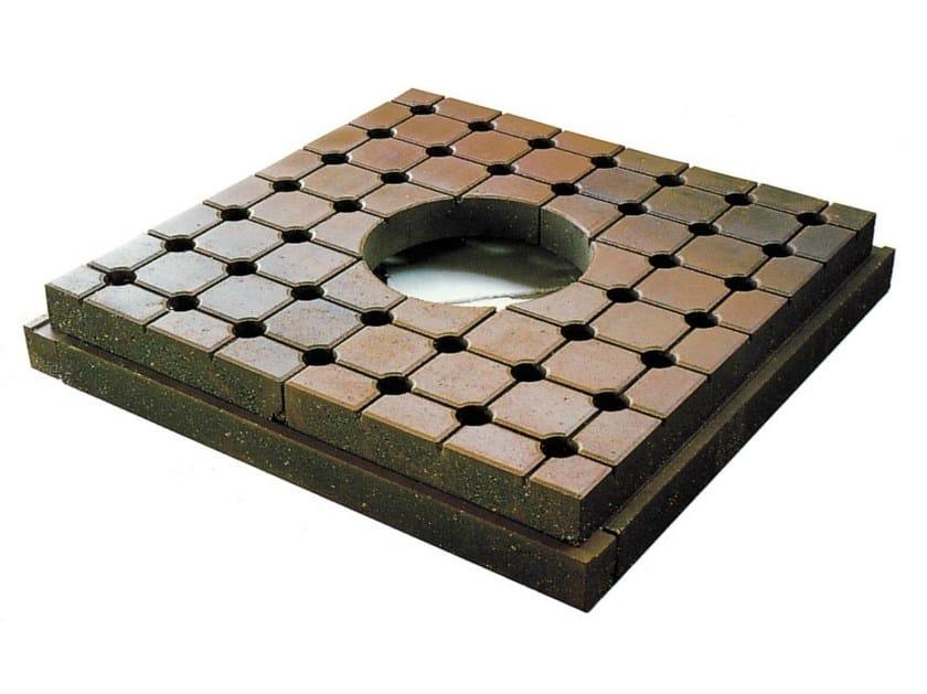 Concrete tree grill ALBERELLA PLUS - Gruppo Industriale Tegolaia