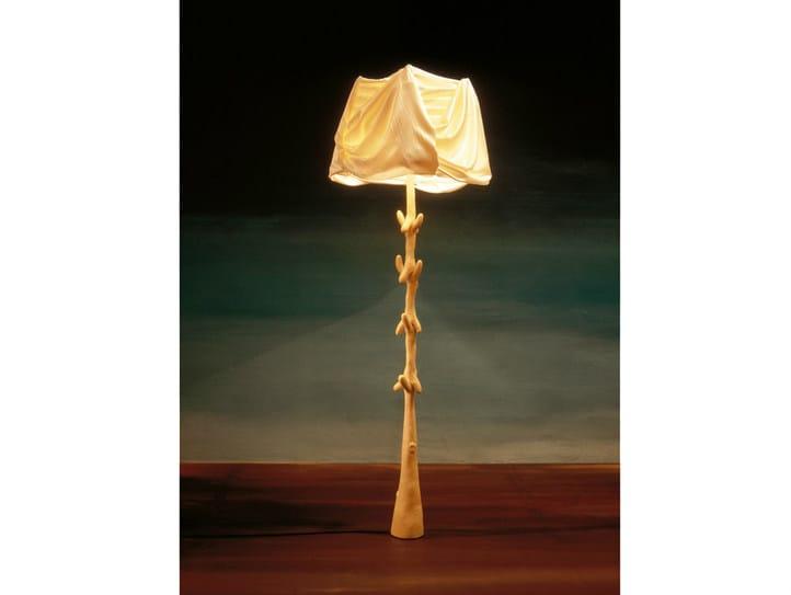 Wooden floor lamp MULETAS Y CAJONES | Floor lamp - BD Barcelona Design