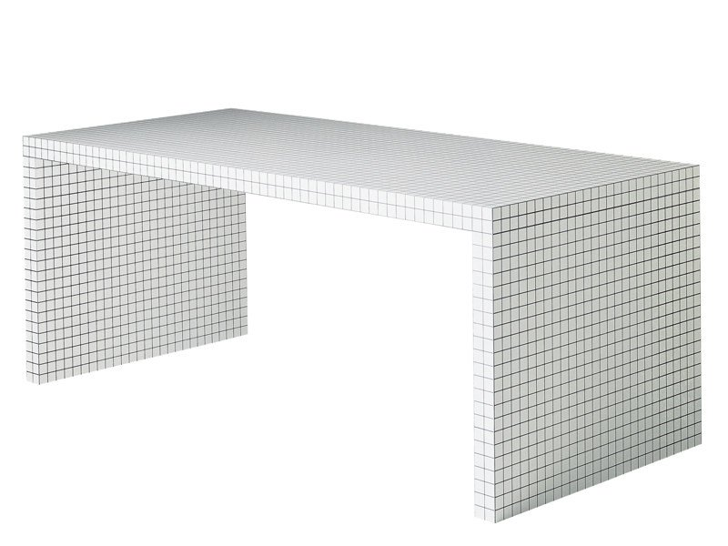 Honeycomb writing desk QUADERNA 2830 - Zanotta
