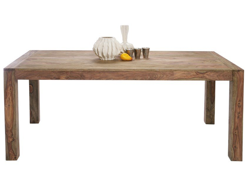 Rectangular wooden table AUTHENTICO | Rectangular table - KARE-DESIGN
