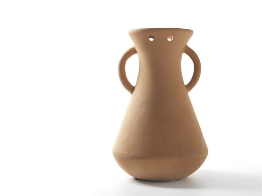 Low terracotta vase GARDENIAS N.5 - BD Barcelona Design