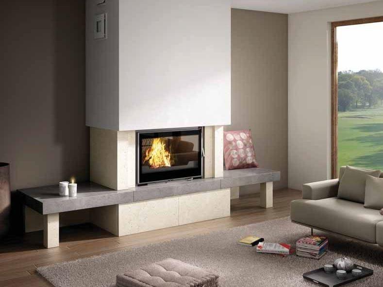 Wood-burning fireplace MONTERO - CHEMINEES SEGUIN DUTERIEZ