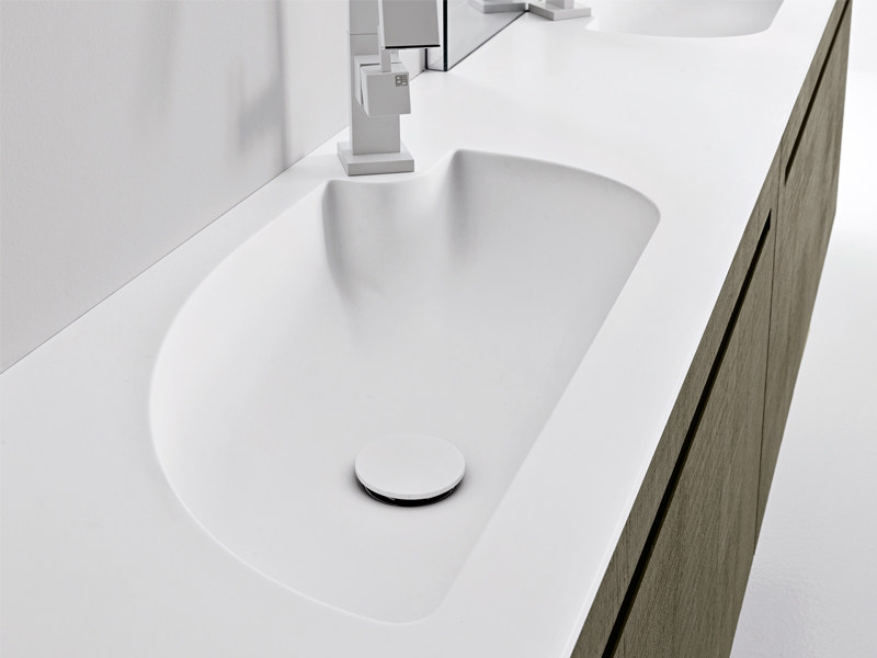 Inset washbasin COMPASSO - Edoné by Agorà Group