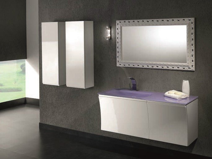 Single vanity unit with drawers S119 - Mobiltesino