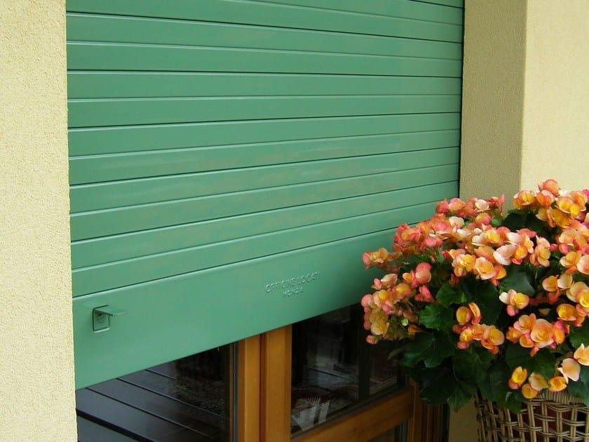 Anti-burglary galvanized steel roller shutter Roller shutter - OFFICINE LOCATI