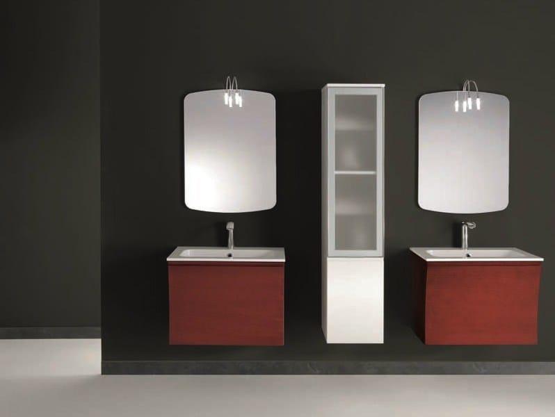 Single wall-mounted vanity unit S131   Single vanity unit - Mobiltesino