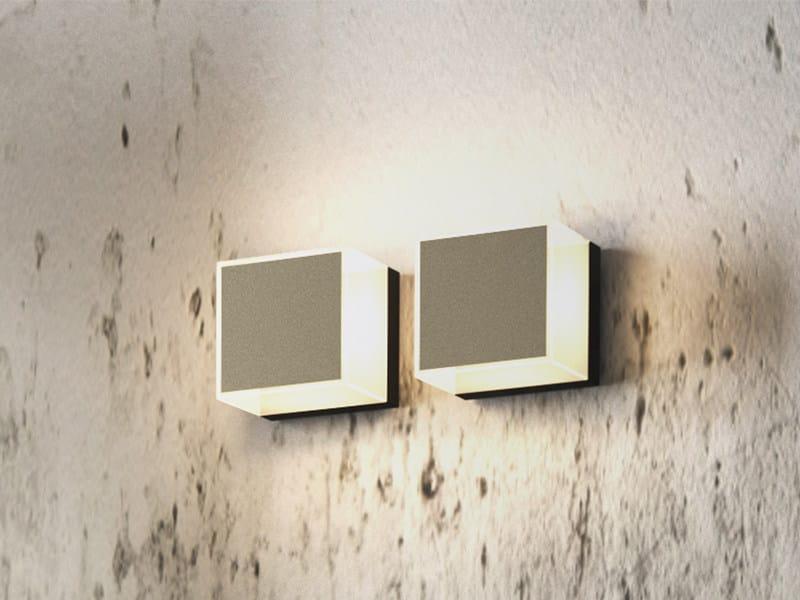 LED chrome plated bathroom wall lamp QUINN | Bathroom wall lamp - Edoné by Agorà Group