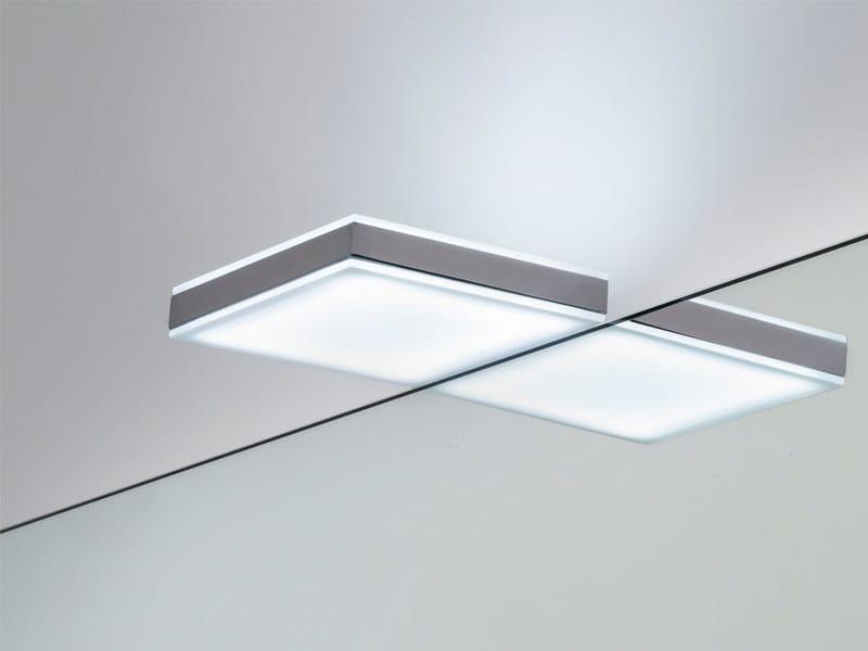 LED chrome plated mirror lamp CHAGALL - Edoné by Agorà Group