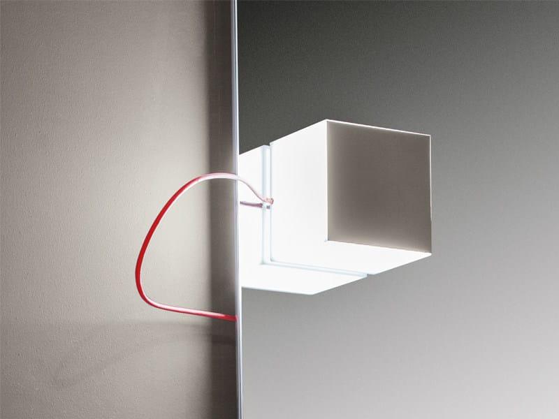 LED chrome plated mirror lamp QUINN - Edoné by Agorà Group
