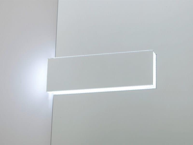 LED mirror lamp WARHOL 2 by Edoné by Agorà Group