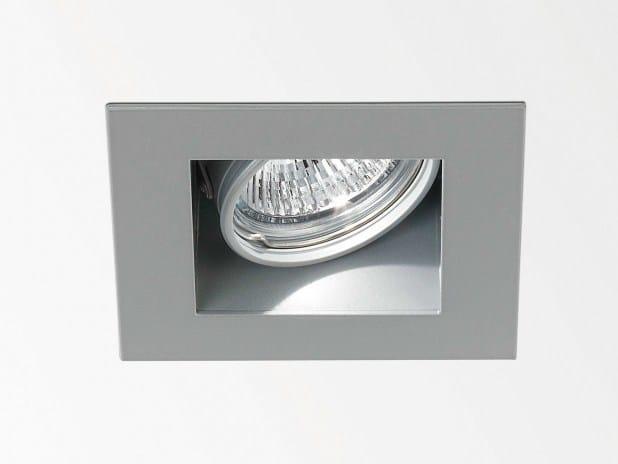 Adjustable ceiling recessed spotlight CARREE Rs50 OK - Delta Light
