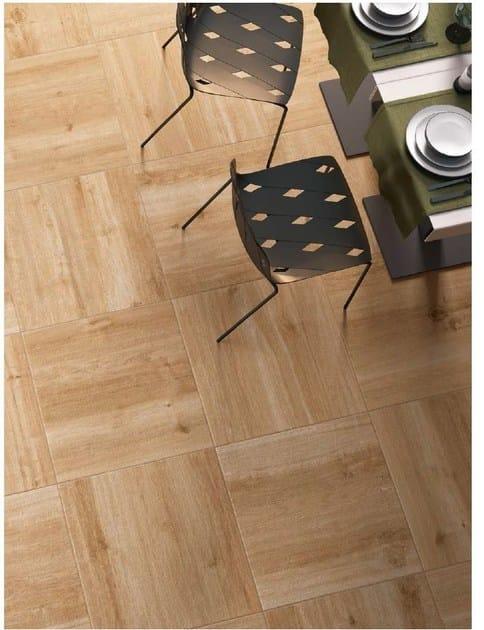Pavimento per esterni in gres porcellanato effetto legno ...