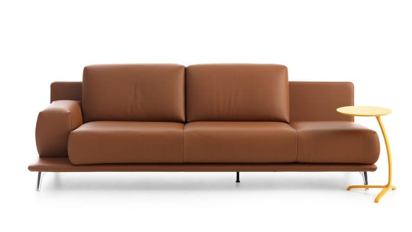Leather sofa PALETA | Leather sofa - LEOLUX